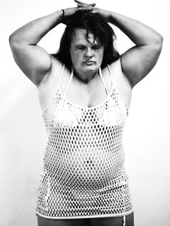 Черно-белые снимки накачанных женщин