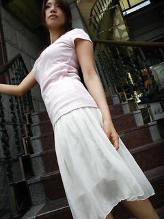 Азиатская эротика с нежной японкой в постели