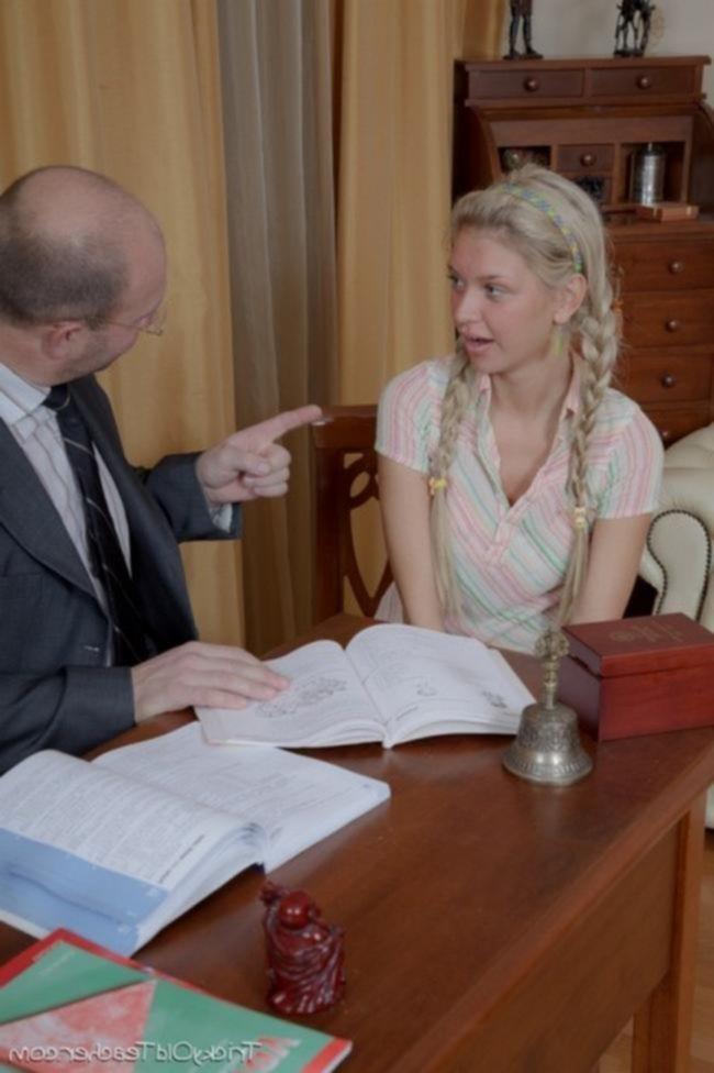 Отец наказал дочь за плохие оценки
