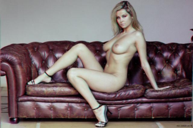 Нереально красивая блондинка с шикарным телом