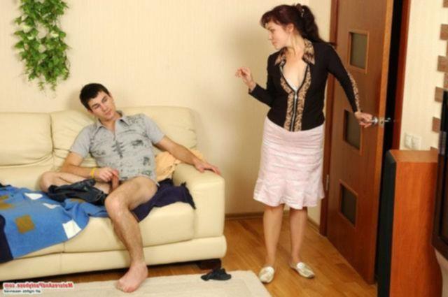 Оприходовал развратную пятидесятилетнюю тетю