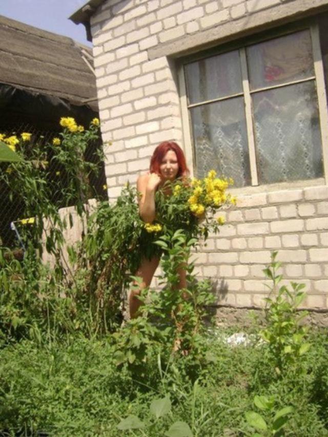 Ольга зажигает в деревне